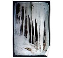 Cave Ice Poster