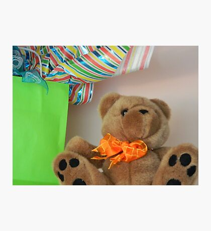 Teddy with Bow tie   ^ Photographic Print