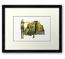 Eco Warrior (Female)  Framed Print