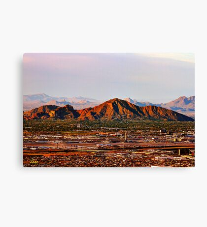 Camelback Mountain Canvas Print