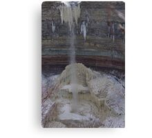 Ribbon Waterfall........... Canvas Print