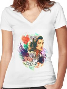 Since we were 18 Women's Fitted V-Neck T-Shirt