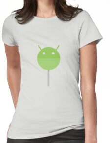 Android Lollipop Womens Fitted T-Shirt