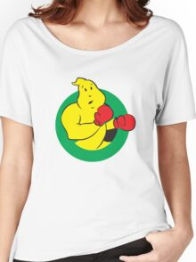 Boxing No-Ghost Logo Women's Relaxed Fit T-Shirt