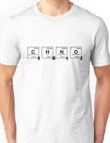 caffeine - Periodic Element Scramble Unisex T-Shirt