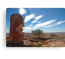 Desert Sculptures Metal Print