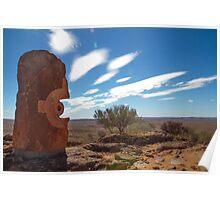 Desert Sculptures Poster