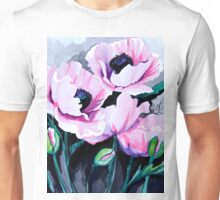 Pink Poppies Unisex T-Shirt