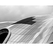 The curve of the roof Photographic Print