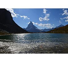 The Mighty Matterhorn  Photographic Print