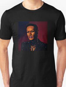 Grace Jones painting Unisex T-Shirt