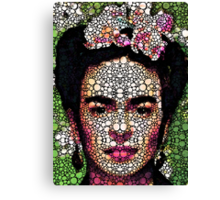 Frida Kahlo Art - Define Beauty Canvas Print