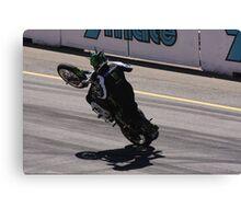 2013 Clipsal 500 Day 3 Stunt Bikes Canvas Print