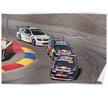 2013 Clipsal 500 Day 3 V8 Supercars - Lowndes, Whincup & Webb Poster