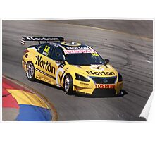 2013 Clipsal 500 Day 3 V8 Supercars - Moffat Poster