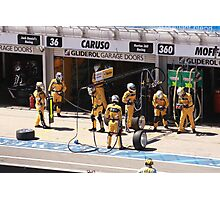 2013 Clipsal 500 Day 3 V8 Supercars - Pit Crew Photographic Print