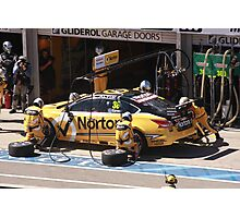 2013 Clipsal 500 Day 3 V8 Supercars - Caruso Pit Stop Photographic Print