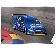 2013 Clipsal 500 Day 3 V8 Supercars - A.Davison Poster