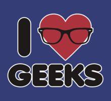 I Heart Geeks by DetourShirts