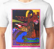 Night Came Creeping Over the Castle Unisex T-Shirt