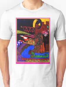 Night Came Creeping Over the Castle T-Shirt