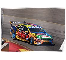 2013 Clipsal 500 Day 3 V8 Supercars - W.Davison Poster