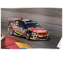 2013 Clipsal 500 Day 3 V8 Supercars - Ingall Poster