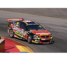2013 Clipsal 500 Day 3 V8 Supercars - Ingall Photographic Print