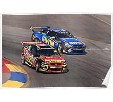2013 Clipsal 500 Day 3 V8 Supercars - Ingall, Holdsworth Poster