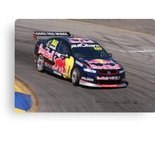 2013 Clipsal 500 Day 3 V8 Supercars - Lowndes Canvas Print