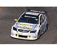 2013 Clipsal 500 Day 3 V8 Supercars - Webb Photographic Print