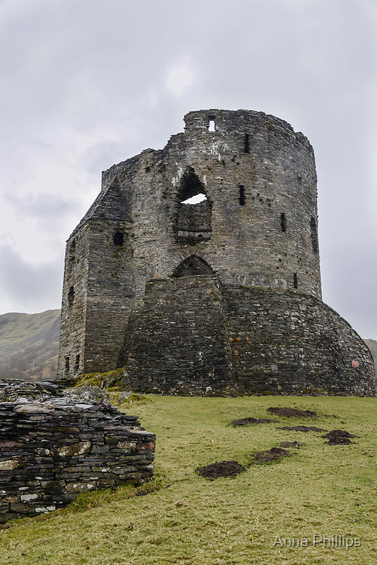 Dolbadarn Castle by Anna Phillips