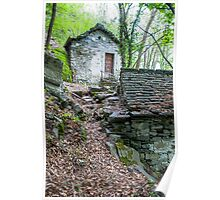 Old Mill House in Valle Maggia Poster