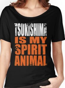 Tsukishima is my Spirit Animal Women's Relaxed Fit T-Shirt