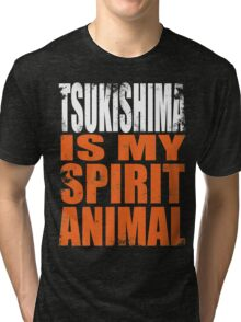 Tsukishima is my Spirit Animal Tri-blend T-Shirt