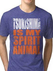 Tsukishima is my Spirit Animal Tri-blend T-Shirt