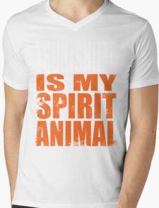 Tsukishima is my Spirit Animal Mens V-Neck T-Shirt