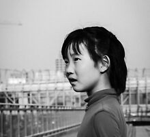 Little Chinese Girl  by zachduval