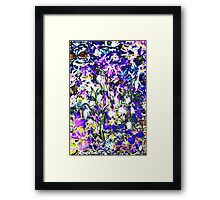 Snowdrops in Color Framed Print