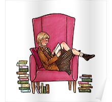 Reading fictional characters: Liesel Poster
