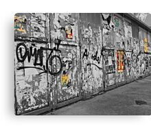 The Wall. Canvas Print