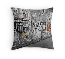 The Wall. Throw Pillow