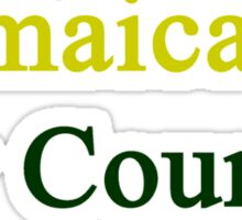 Jamaica Is My Country Sticker
