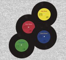 Vinyl Music Kids Clothes