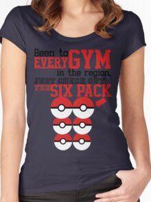 Pokemon gym monkey Women's Fitted Scoop T-Shirt