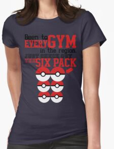 Pokemon gym monkey Womens Fitted T-Shirt