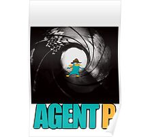 phineas and ferb perry the platypus agent p Poster