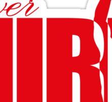 Forever Mirin (version 2 red) Sticker