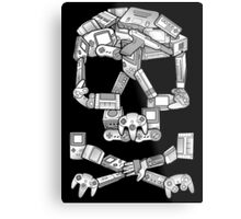 Game or Die Metal Print
