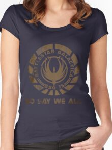 So Say We All Women's Fitted Scoop T-Shirt
